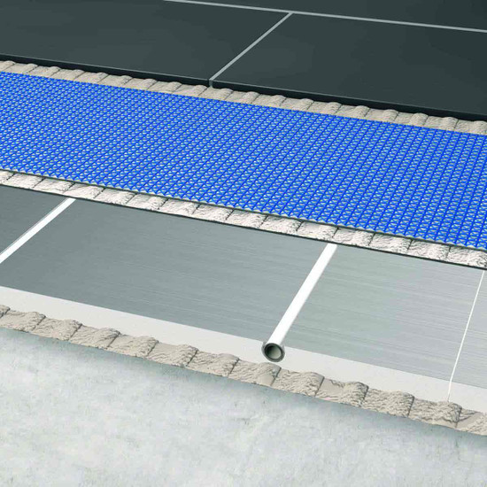 Blanke Permat Underlayment Over Concrete