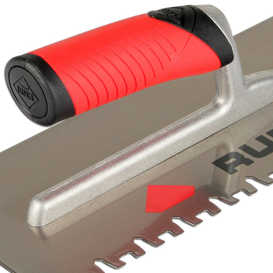 ruby jagged ceramic notch trowel