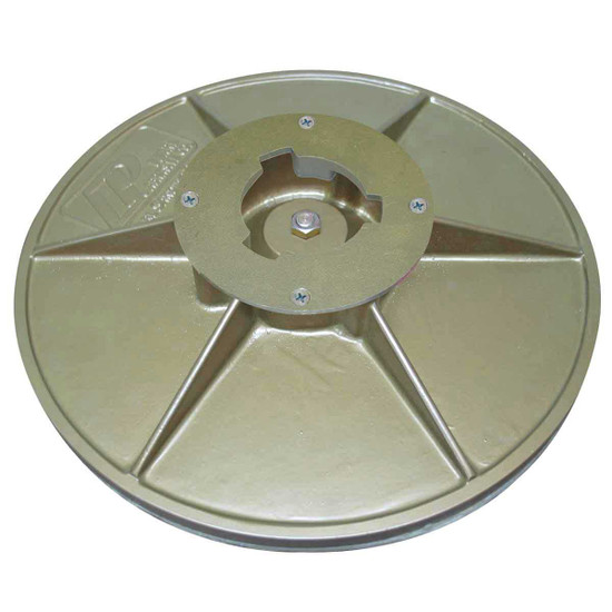 pearl 16 inch sanding pad with clutch plate BUFSPL16