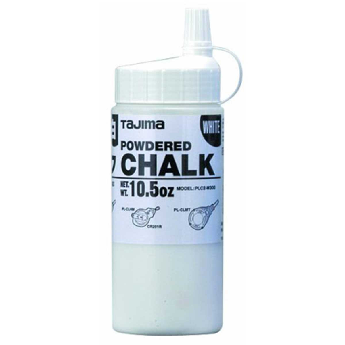 tajima ultra fine snap line white chalk