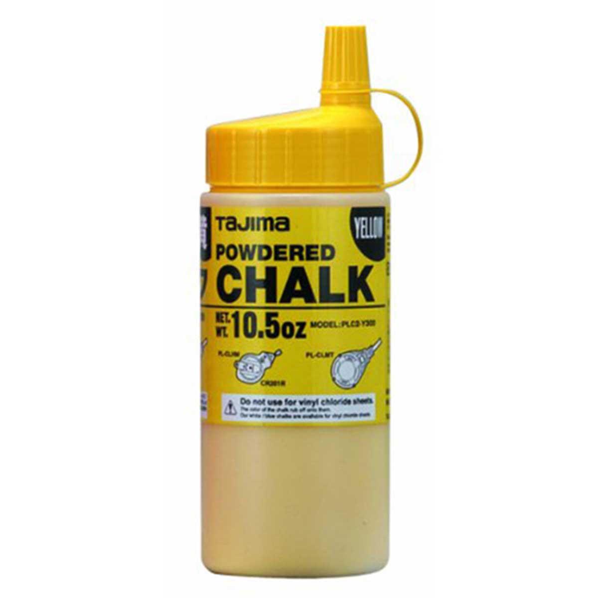 tajima ultra fine snap line yellow chalk