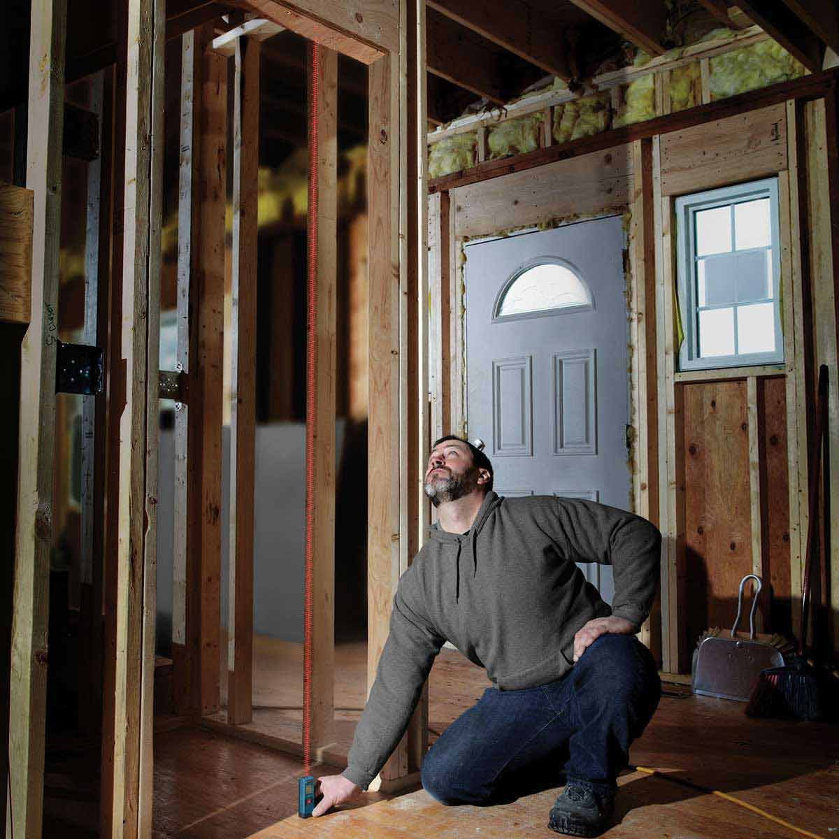 floor to ceiling laser measuring Bosch