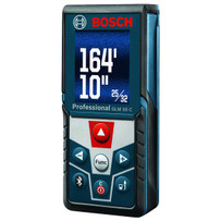Bosch Bluetooth Enabled Laser Measurer with Color Display