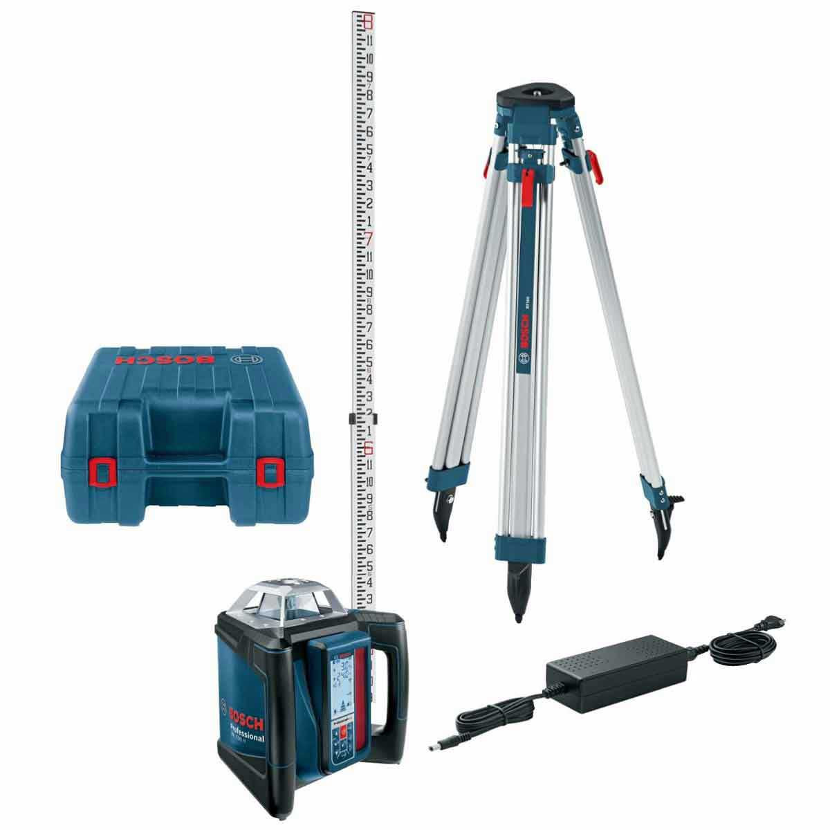 Bosch Self-Leveling Rotary Laser Kit GRL500HCK
