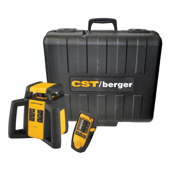 CST Berger RL25H with Carrying Case