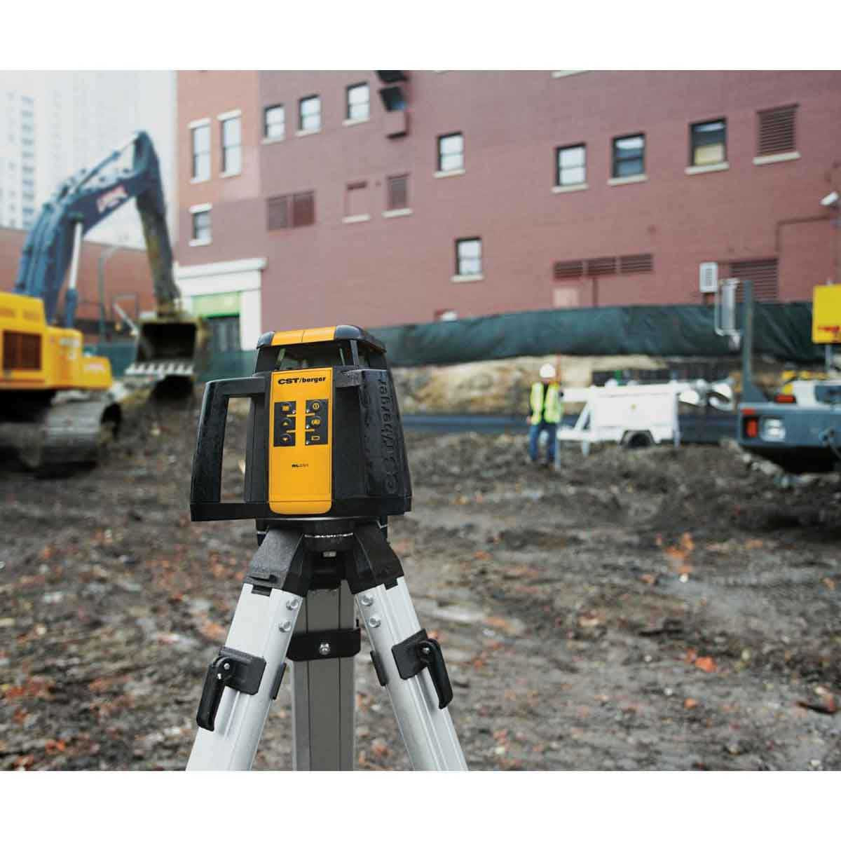 Durable Self-Leveling Exterior Rotary Laser Kit
