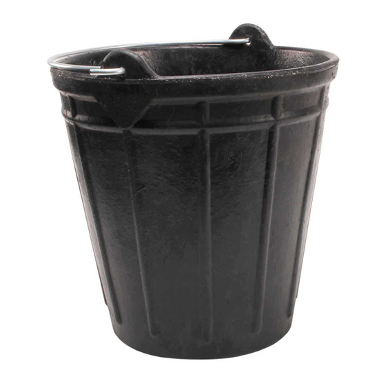 Rubi RUBBERBUCK Industrial Rubber Bucket, For mixing up to 4 gallons thin set and other setting materials