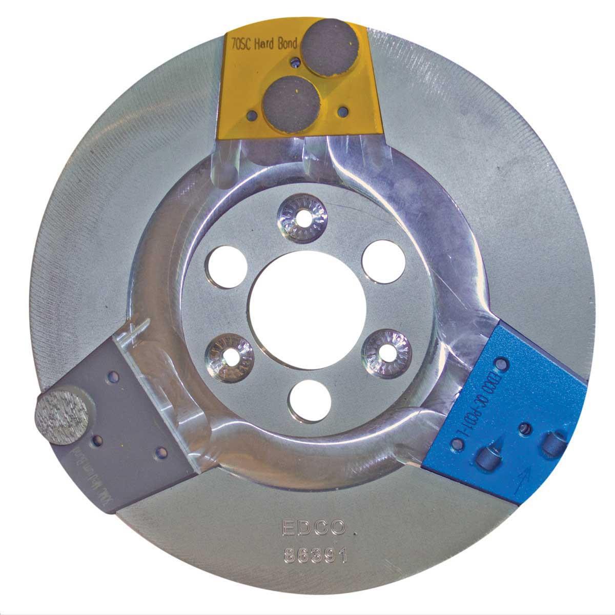 Edco MAGNA-TRAP Single Disc Floor Grinder. 1.5 hp. 120V. Contractors ...