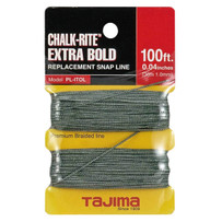 Tajima PL-ITOL Extra Bold Braided Replacement Chalk Line