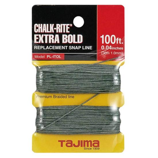 tajima extra bold braided replacement chalk line