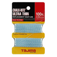 tajima ultra thin braided replacement chalk line
