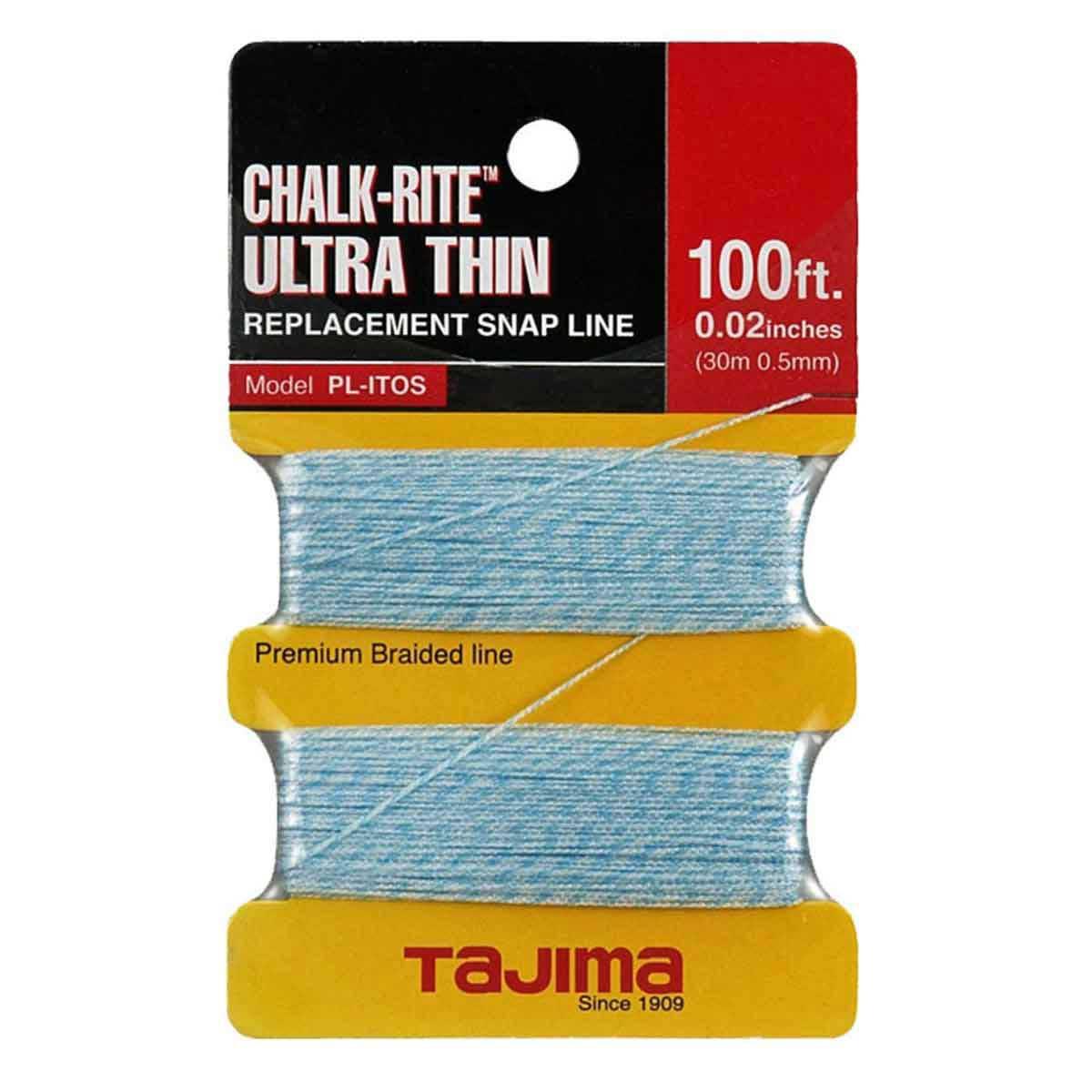 tajima ultra thin braided replacement chalk line