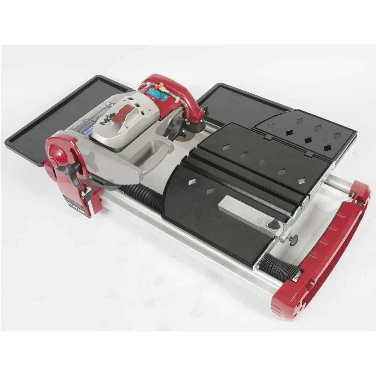 MK TX-4 Wet Tile Saw with all components