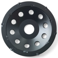 Husqvarna PCD Cup Wheels Designed for Removing Surface Coatings