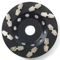Husqvarna G1073 Cup Wheels Used for Abrasive Concrete