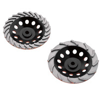 Diamond Products Heavy Duty Orange Cup Wheels