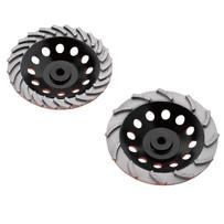 Diamond Products Heavy Duty Orange Cup Wheels