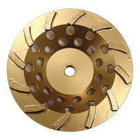 Diamond Products Gold Turbo Cup Wheels