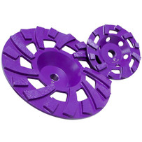 Diamond Products Core Cut Imperial Purple Turbo Cup Wheel