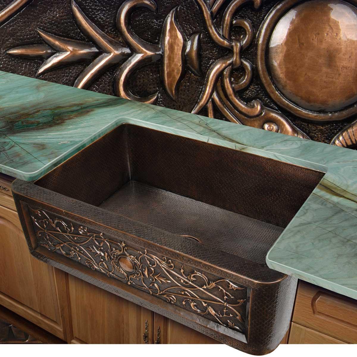 KPAD3322D10 Artisan Copper counter