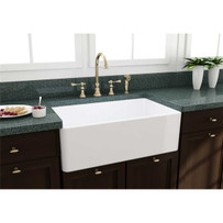 Artisan Single Bowl Fireclay Sink