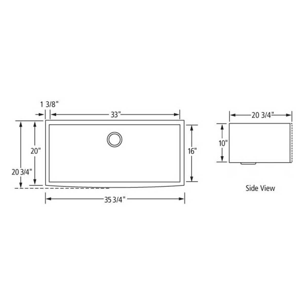 Artisan CPAZ3621-D10 Sink draw