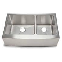 Artisan CPAZ3621-D1010 Chef Pro Double Bowl Apron Sink