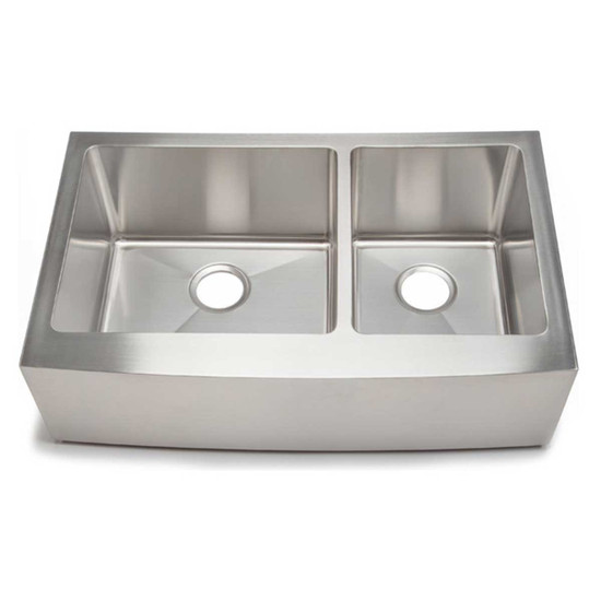 Artisan CPAZ3621-D1010 Chef Pro Double Bowl Apron Sink