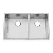 Artisan CPUZ3219-D1010 Chef Pro Double Bowl Undermount Sink