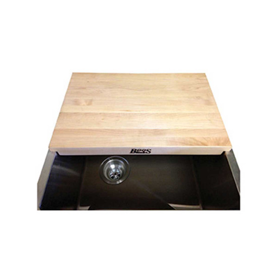 Jon Boos & Co. Cutting Board Fits Over Sink for Easy Food Preparation