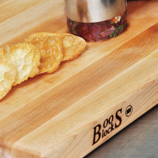 "Artisan 1.5"" Maple board food"