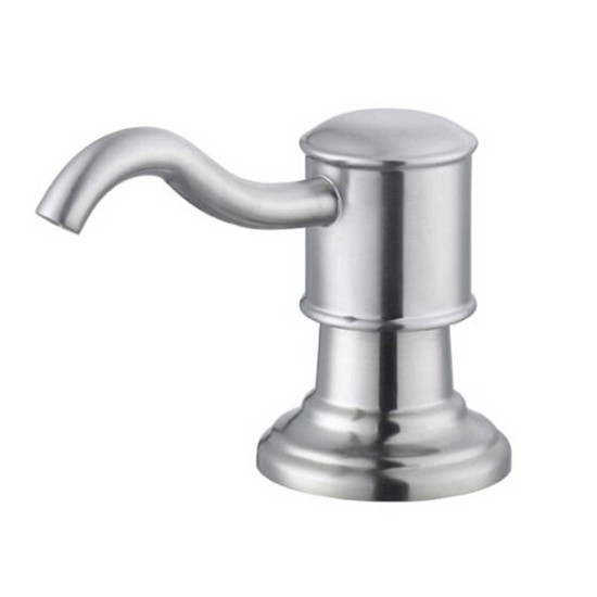Artisan Satin Brushed Nickel Soap & Lotion Dispenser