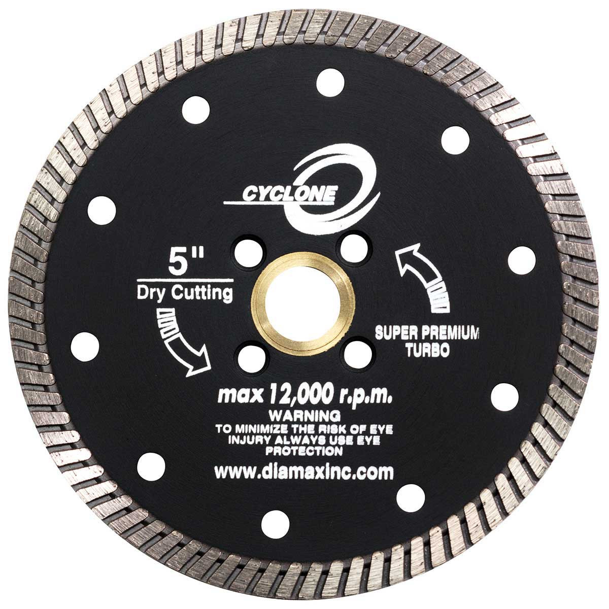 diamax cyclone granite turbo blade
