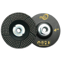SCRG4 Diamax Cyclone 4 inch Super Cluster Grinder Wheel