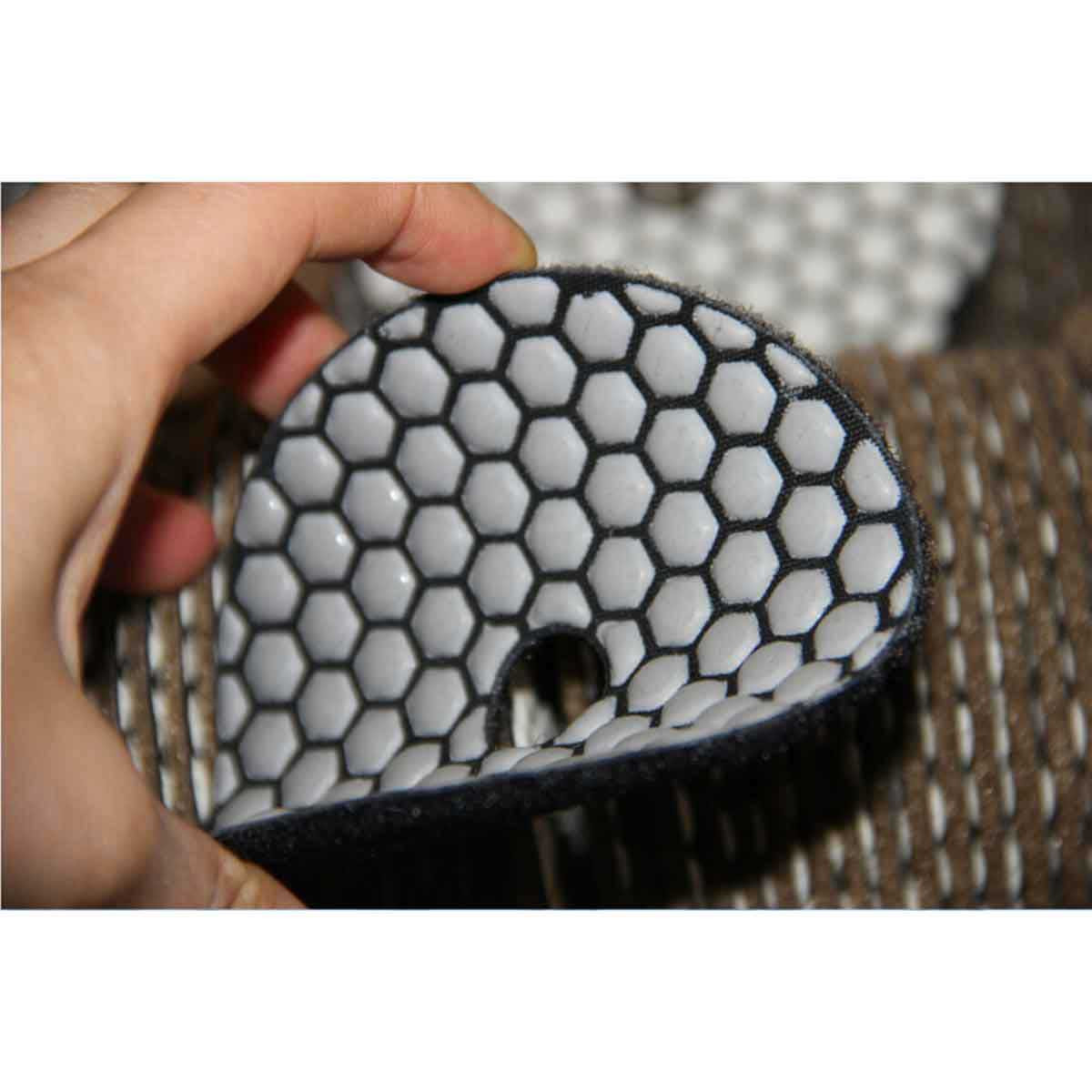 4 inch Dry Polishing Pads Rubi
