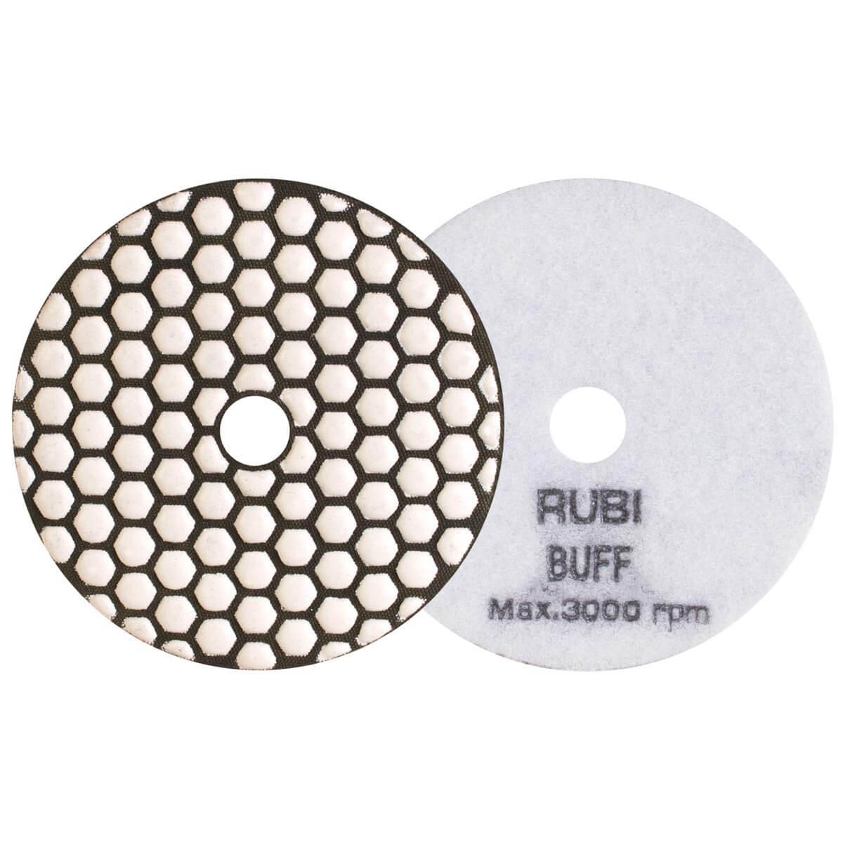 Rubi Dry stone Polishing Pads