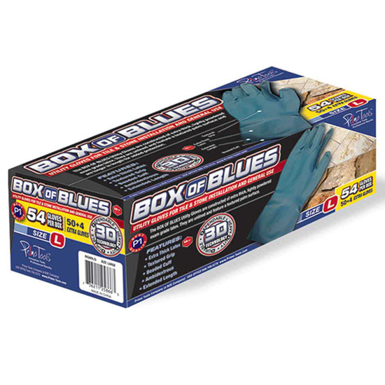 Primo Tools Box of Blues gloves
