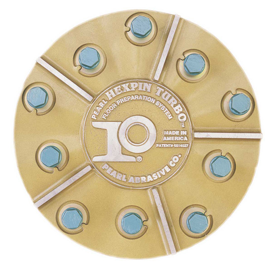 Pearl Abrasive 11 inch Plate with General Purpose Pins