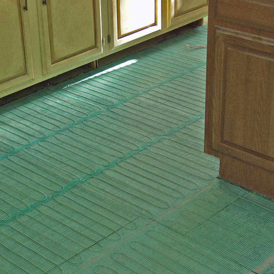Warmly Yours Radiant Heat Mat Install