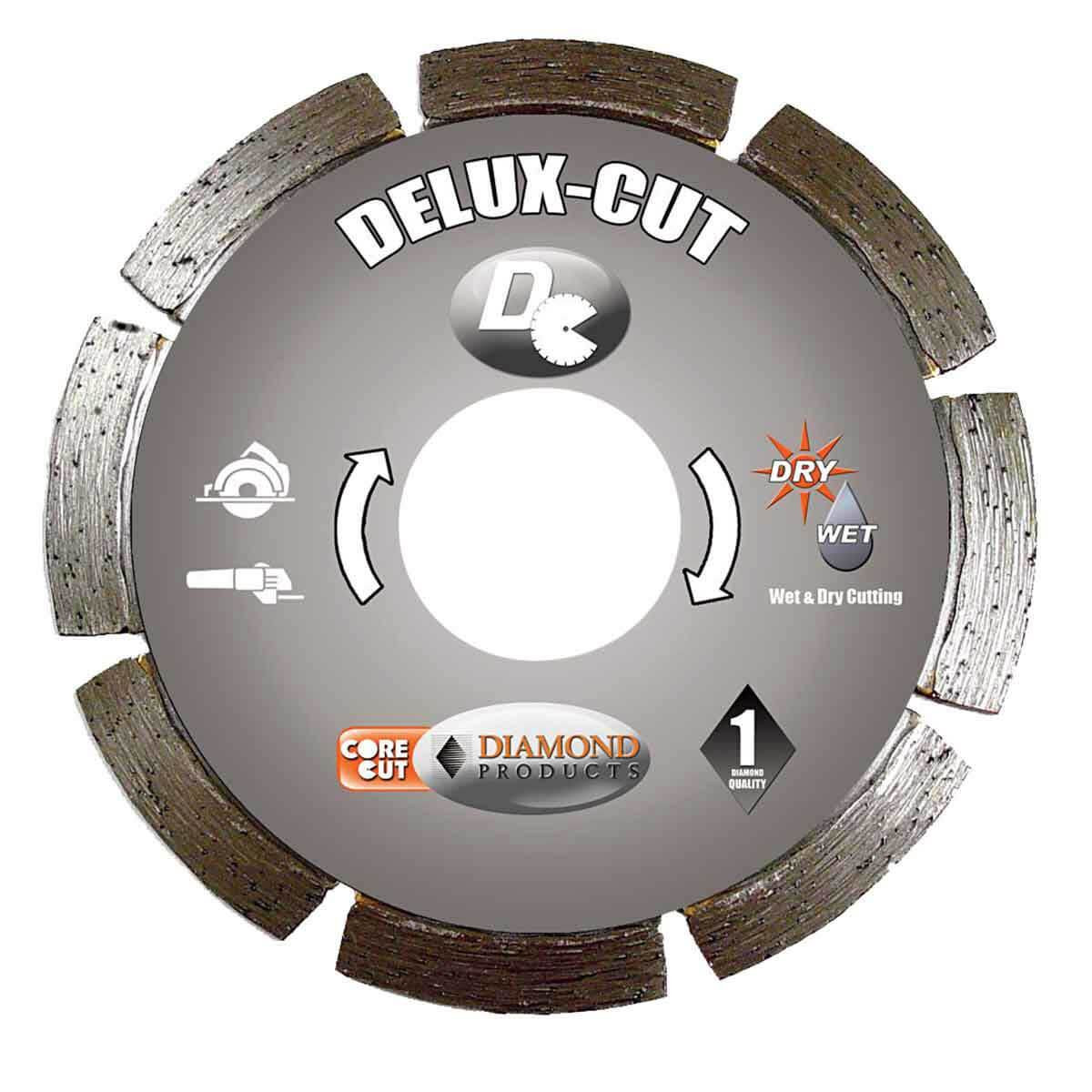 Diamond Products Core Cut Delux Tuck Point Blades