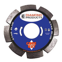 Diamond Products Core Cut Star Blue Tuck Point Blades