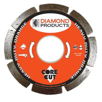 Diamond Products Core Cut Heavy Duty Orange Tuck Point Blades