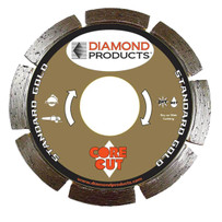 Diamond Products Core Cut Standard Gold Tuck Point Blades