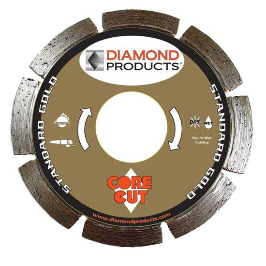Core Cut Standard Gold Tuck Point Blade