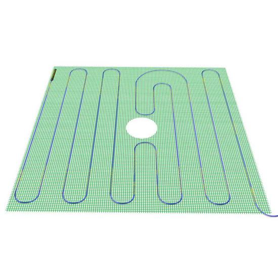 Laticrete Hydro Ban Pre-sloped Shower Pan ready to tile