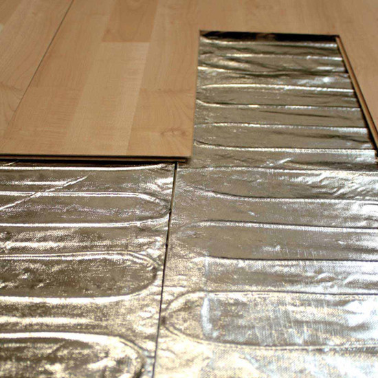 Warmly Yours Environ Electric Underfloor Heating Mats are ideal for adding warmth & comfort to your carpet or laminate & floating floors
