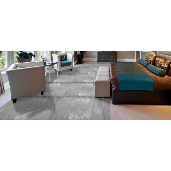 complete floor heating coverage of the entire room. Make any room in your home more comfortable