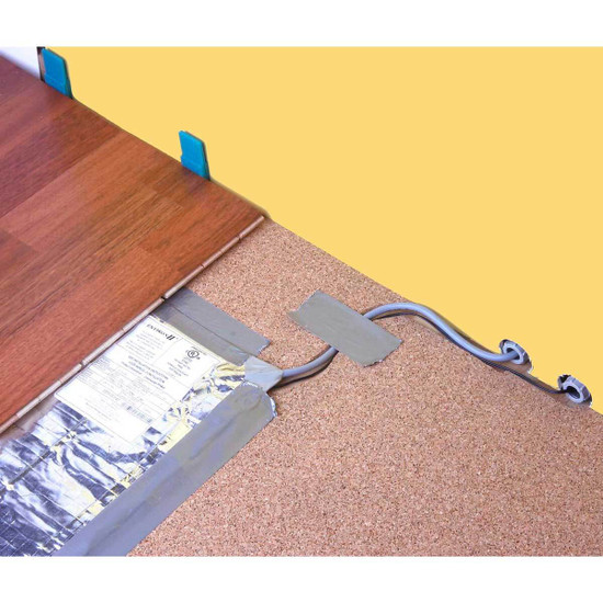 Warmly Yours Environ 120 V Flex Rolls carpet, laminate, floating, floor, heat, foil,
