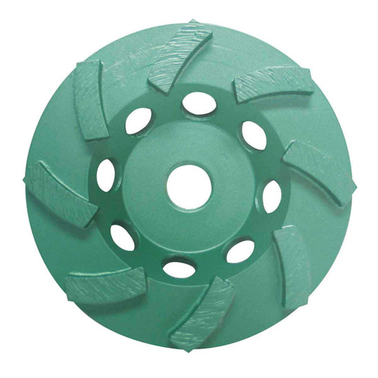 4 inch Pearl Abrasive P4 Double Row Cup Wheel DC4CSH