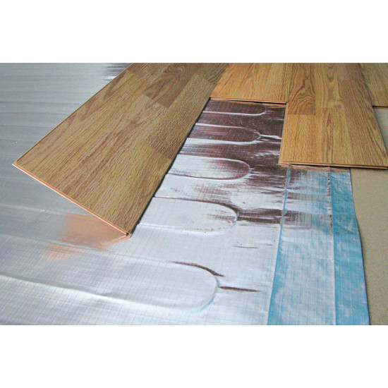 Radiant Floor Heat Mat Installation